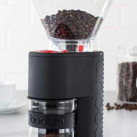 Bodum Bistro Coffee Grinder Black